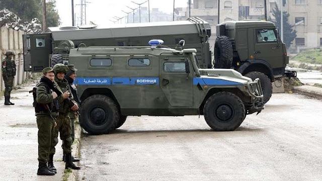 الشرطة العسكرية الروسية تبدأ تسيير دورياتها في منبج 