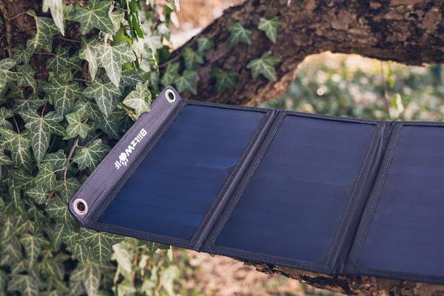 Blitzwolf BW-L3 28W 3.8A Outdoor Solarmodul  Solarladegerät  Mobile-Energie 01