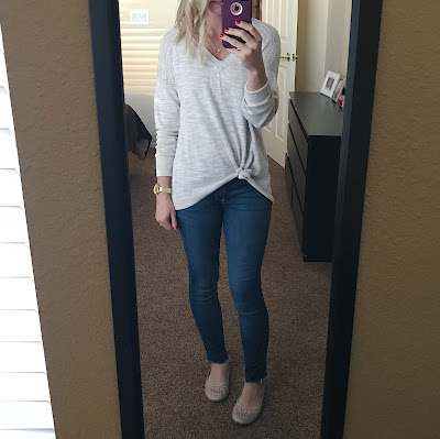 Thrifty Wife, Happy Life- Preschool teacher outfit ideas. Sweater and jeans