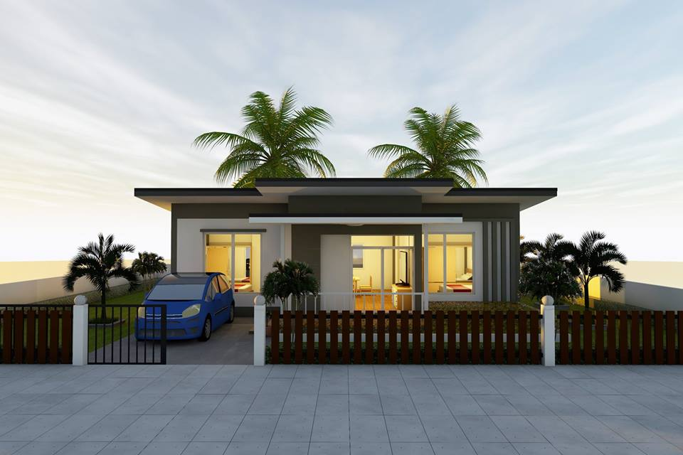 Although many of us are dreaming to have a big and spacious house, there are many homeowners stressing out that you can be happier with smaller or compact homes! It said that for practicality wise, there are many reasons why you should choose to downsize your living from a big house to a smaller one! One of the most obvious reason nowadays is the increasing cost of material and labor in building a house! So if you have a small family consider having a two-bedroom home! It could be an affordable living home for you and for your family in the long run.  Aside from budgeting as we said, there are many reasons why you should consider having a compact house. One of this is the fact that smaller house is easy to maintain and you have less time cleaning it. It is less expensive in the building as well as in your monthly utility such as electricity bills. If you are a type of homeowner who does not want to have a big loan for a house, having a small one means, less debt.  Convinced? If yes then start scrolling down for more house design with two-bedrooms ideal for small families out there who are wanting to have a house for a very long time!