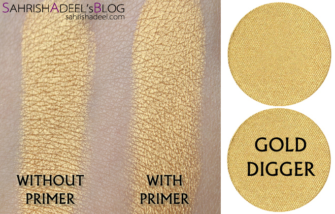 Makeup Geek Pressed Eyeshadows - Gold Digger