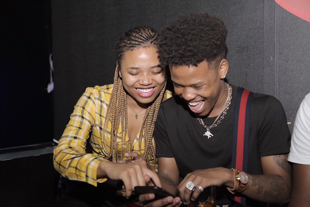 21 Year-old Rapper Nasty C's share pics of Real Girlfriend! Nasty C has  kept his love life very private since becoming a big star.