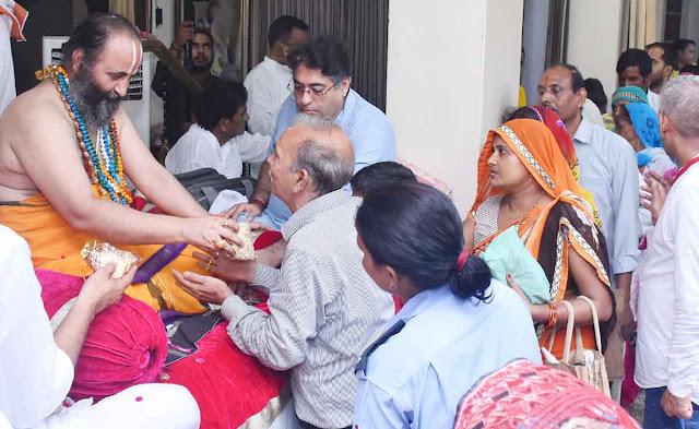 Shree Guru Purnima, Bhagatans, celebrated with great devotion at the Siddhada Ashram, blessed by Swamiji