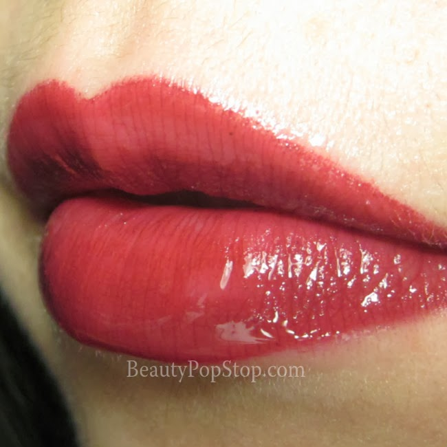make up for ever aqua rouge 10 swatch