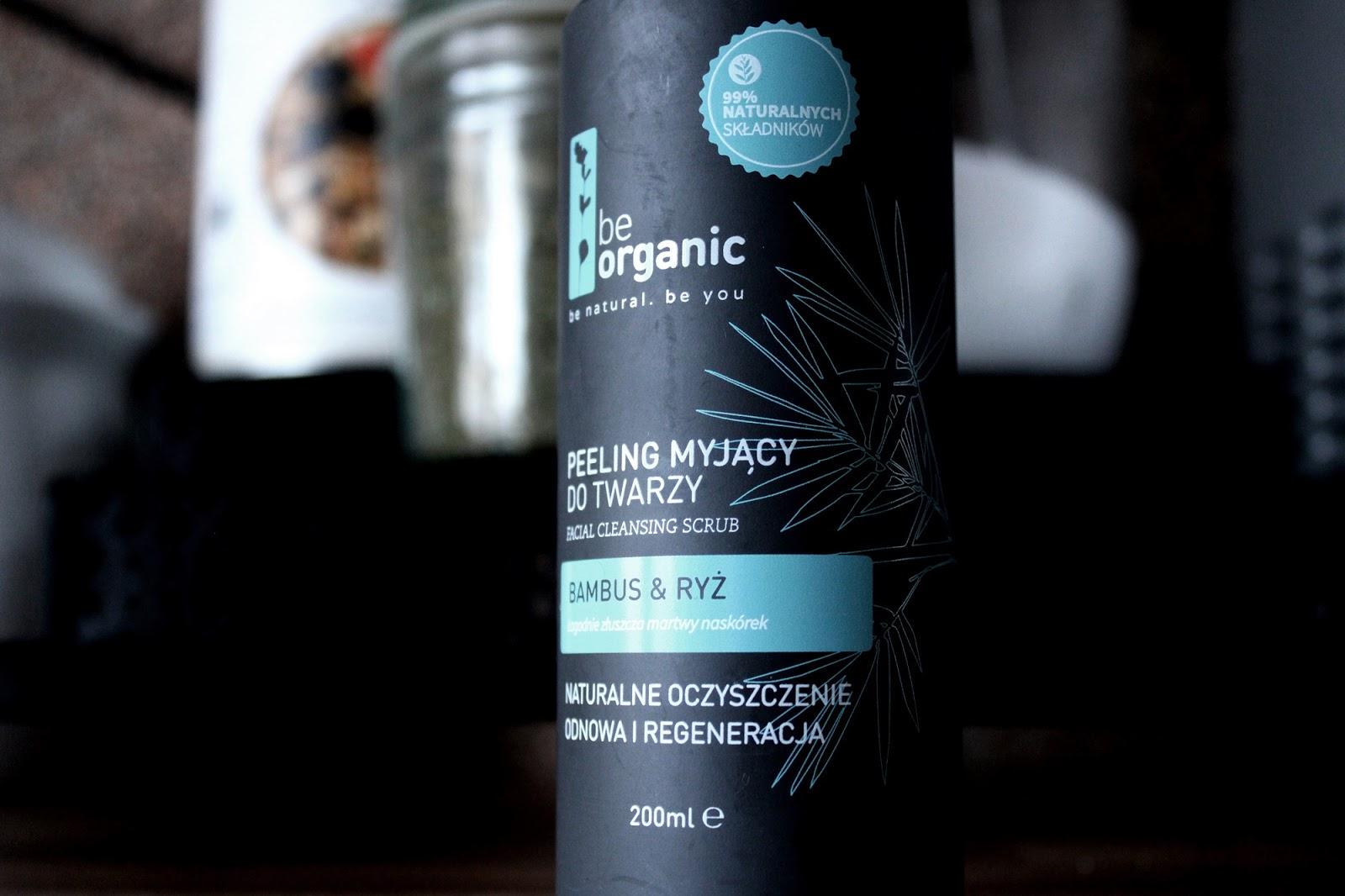 Be Organic, Peeling myjący do twarzy