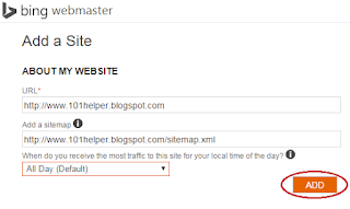 how-to-submit-blogger-sitemap-to-Bing