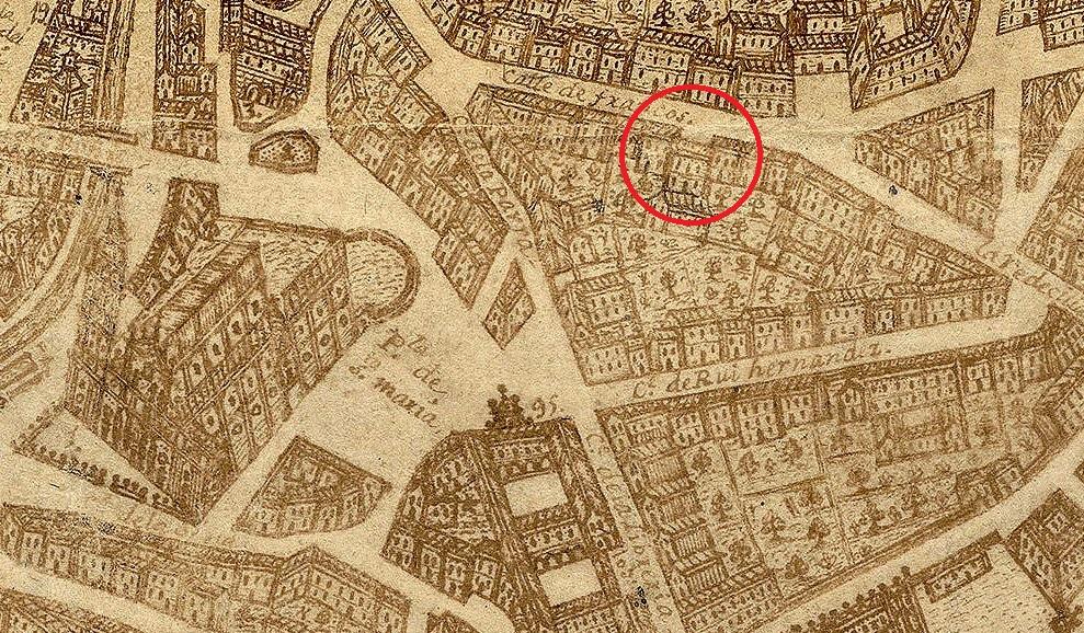 Localización De Una Casa En El Mapa: Arte En Valladolid: CASAS Y PALACIOS CONSERVADOS: LA CASA