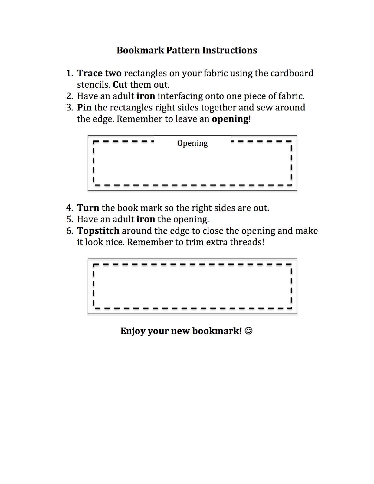 Farm Girl Teacher Learning To Sew Beginner Worksheet And Bookmark