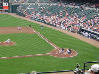 First pitch, Blue Jays vs. Orioles