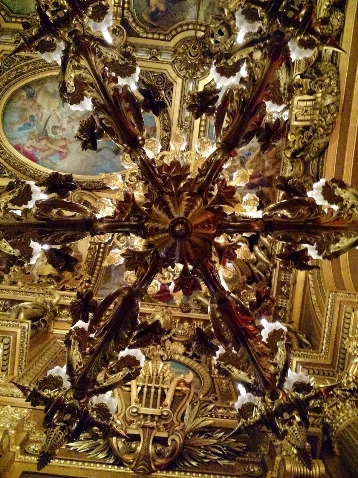 Le Chameau Bleu - Plafond de l'Opéra Garnier