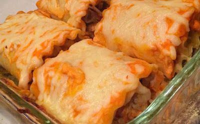 Buffalo Chicken Lasagna Roll-Ups - 9sp