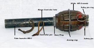 Tube launching MK-I with HE grenade