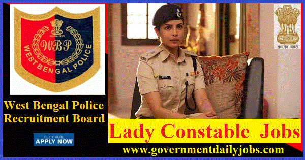 WB POLICE RECRUITMENT 2018 APPLY ONLINE 2550 LADY CONSTABLES POSTS