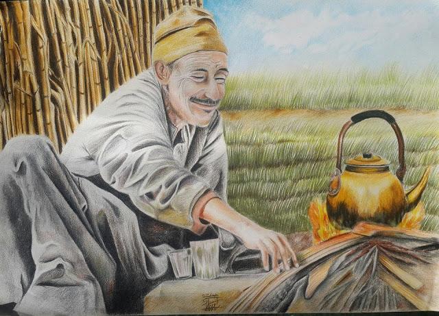 قصة الفلاح وصانع الفخار