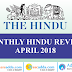 Current Affairs April 2018 | GK Power Capsule PDF (The Hindu Review)