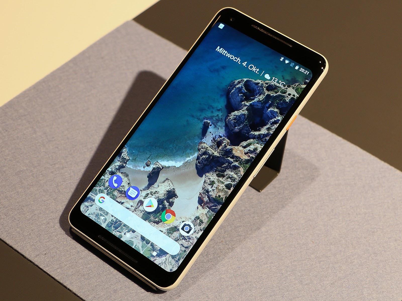 Google Pixel 2 Terapkan Teknologi e-SIM