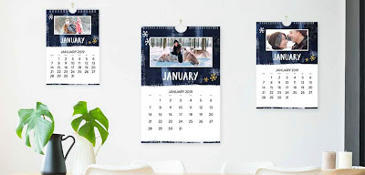 A selection of calendars from Truprint