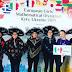 Gana México 'oro' en Olimpiada Femenil de Matemáticas