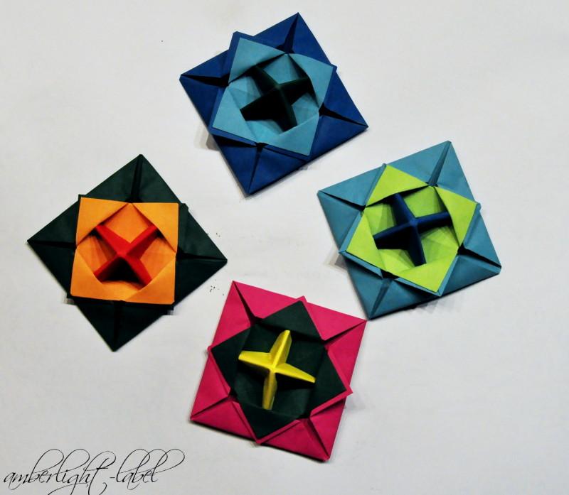 kindergeburtstag anleitung papierkreisel falten makotokoma spinning top origami. Black Bedroom Furniture Sets. Home Design Ideas