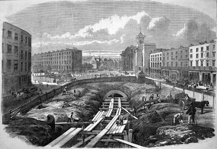 first_Metropolitan_Railway_construction