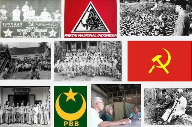 sejarah partai partai di Indonesia