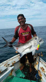 KM Dua Putri Kapal Mancing Pulau Seribu