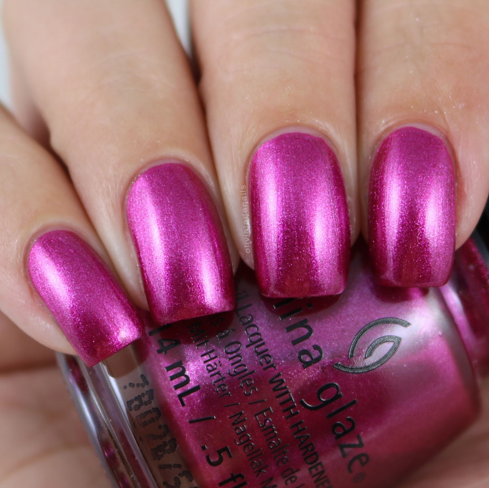 China Glaze Hot Pink Nail Polish Names- HireAbility