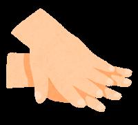 手指消毒のイラスト4