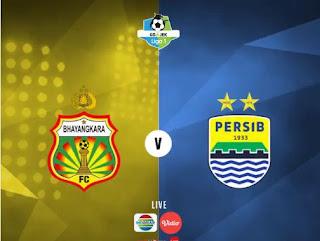 Susunan Pemain Bhayangkara FC vs Persib Bandung