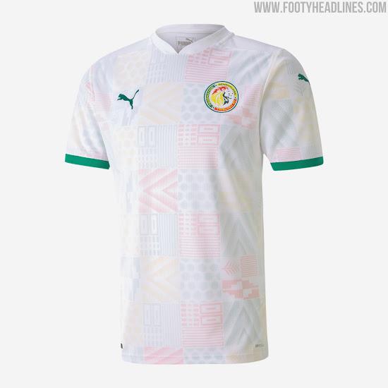 Senegal 2020-2021 Home & Away Kits Released - Footy Headlines