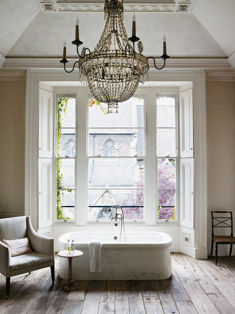 London Interior Chic  - Rose Uniacke's London home.