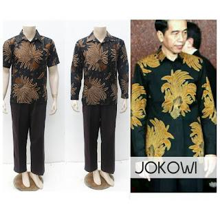 Kemeja Batik Jokowi