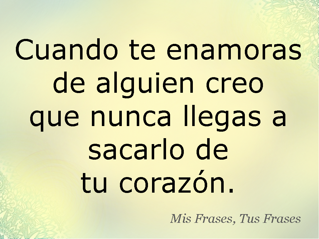 Mis Frases Tus Frases Cuando Te Enamoras