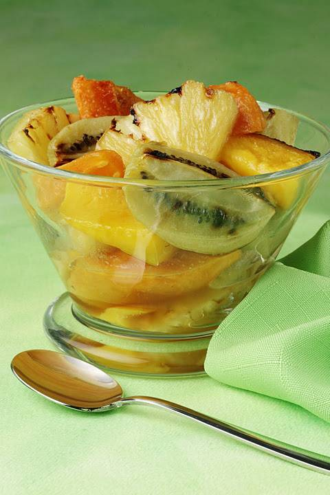Warm Caribbean Fruit Salad: Great For Cold Winter Days