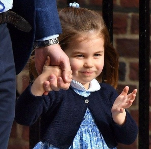Princess Charlotte, daughter of Prince William and Duchess Catherine turned 3 today. Kensington Palace released new official photos of Princess Charlotte