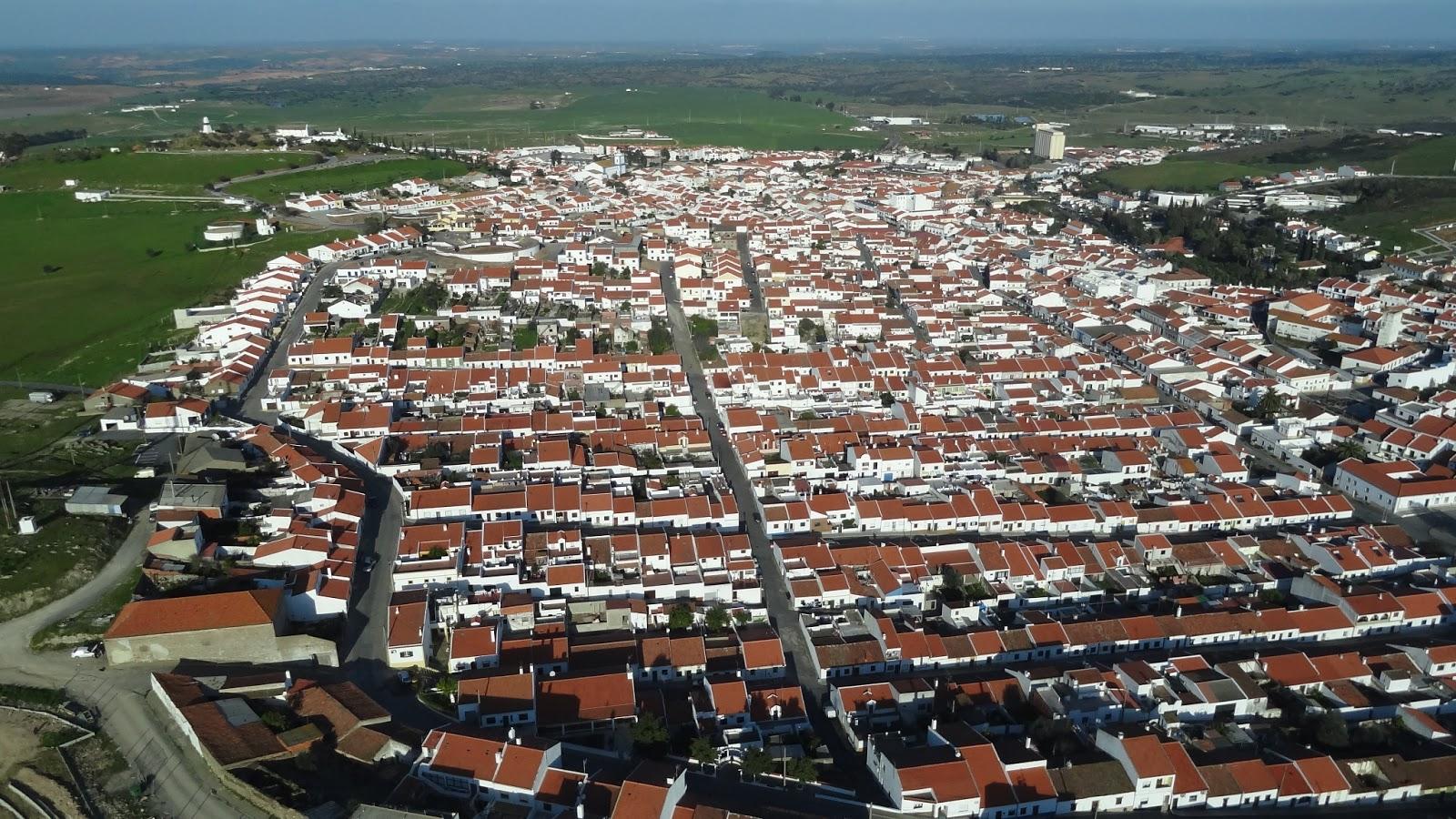 Minas De Aljustrel: Fotografia Aérea: Aljustrel