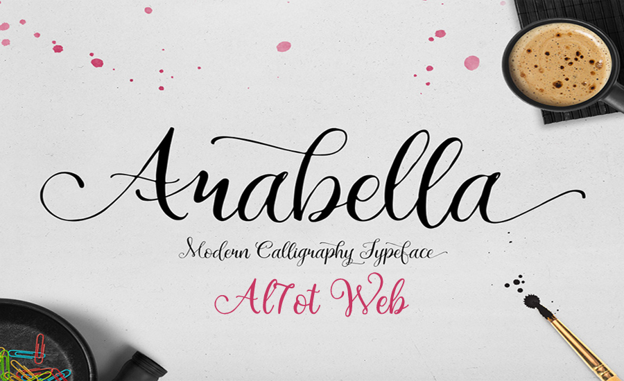 خط ارابيلا - Arabella Font