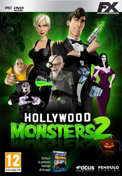 Hollywood Monsters 2 PC Full Español Repack ISO DVD5