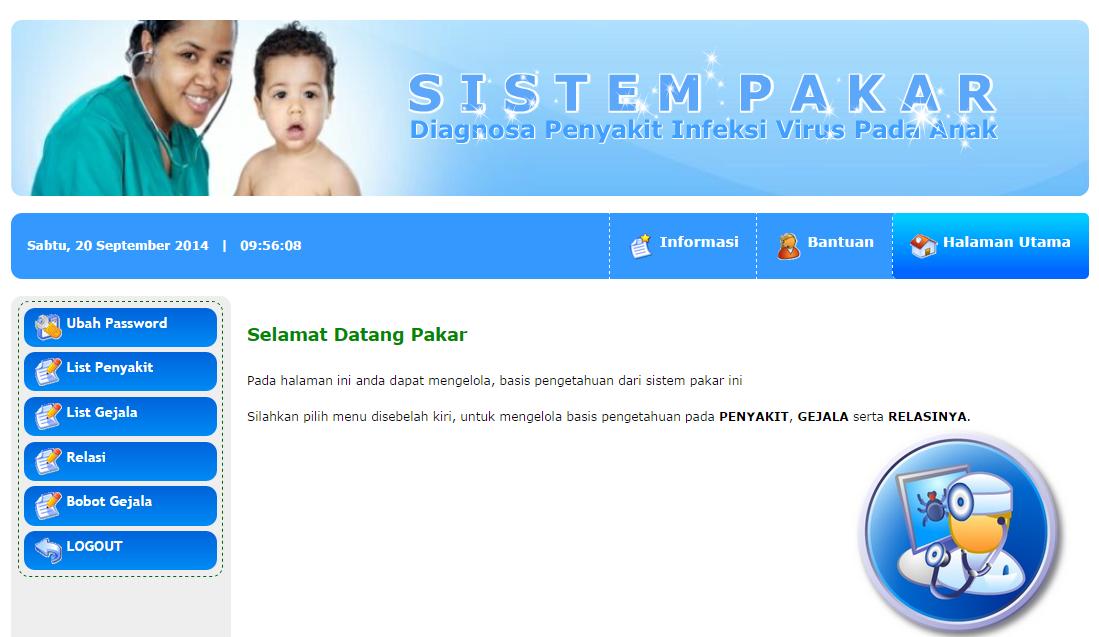 Download Program Sistem Pakar Berbasis Web | Gudang Sourcecode