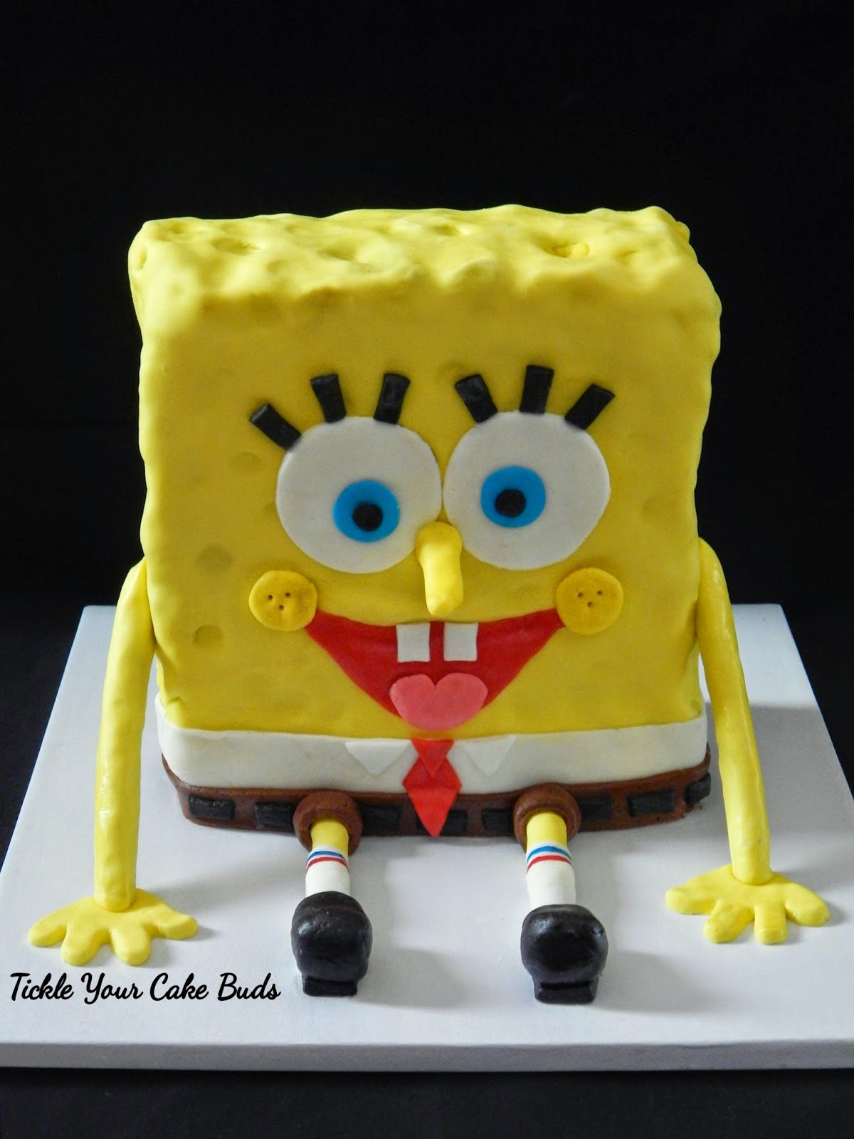 Tickle Your Cake Buds Spongebob Cake Amp Crabby Patty Cupcakes