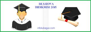 Pendaftran Beasiswa Bidikmisi 2015 secara Online