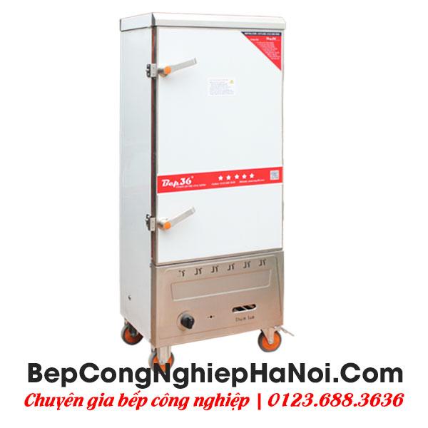 Tủ nấu cơm Bep36 12 khay sử dụng gas điện kết hợp