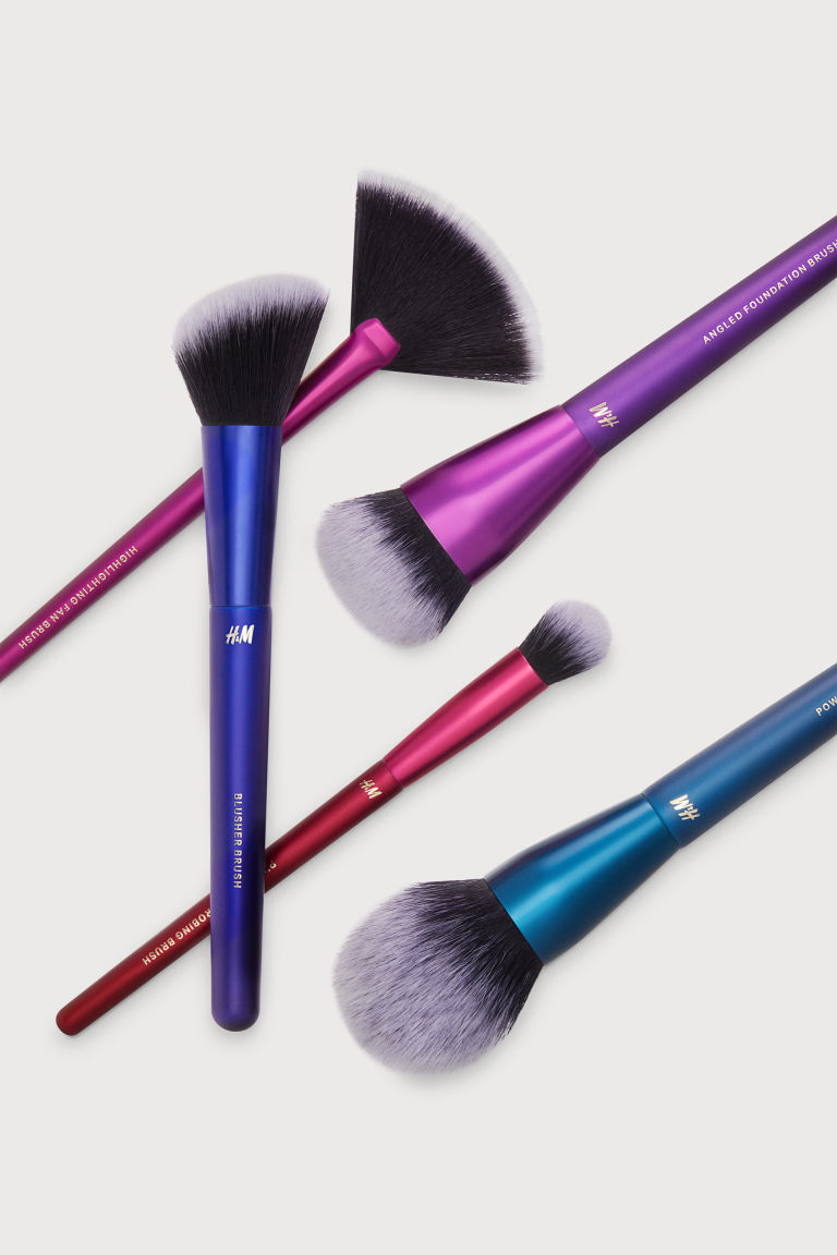Makeup Brushes - Purple