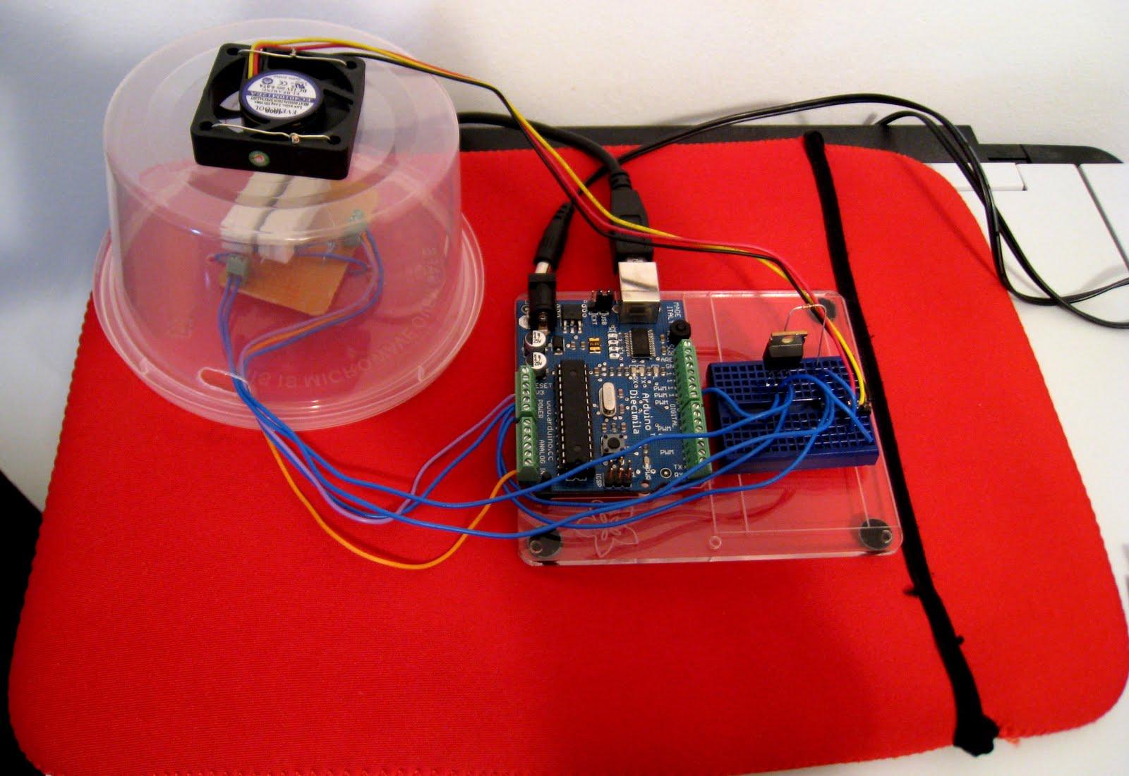Tinkering With Electronics Maqueta De Control Pid Con Arduino
