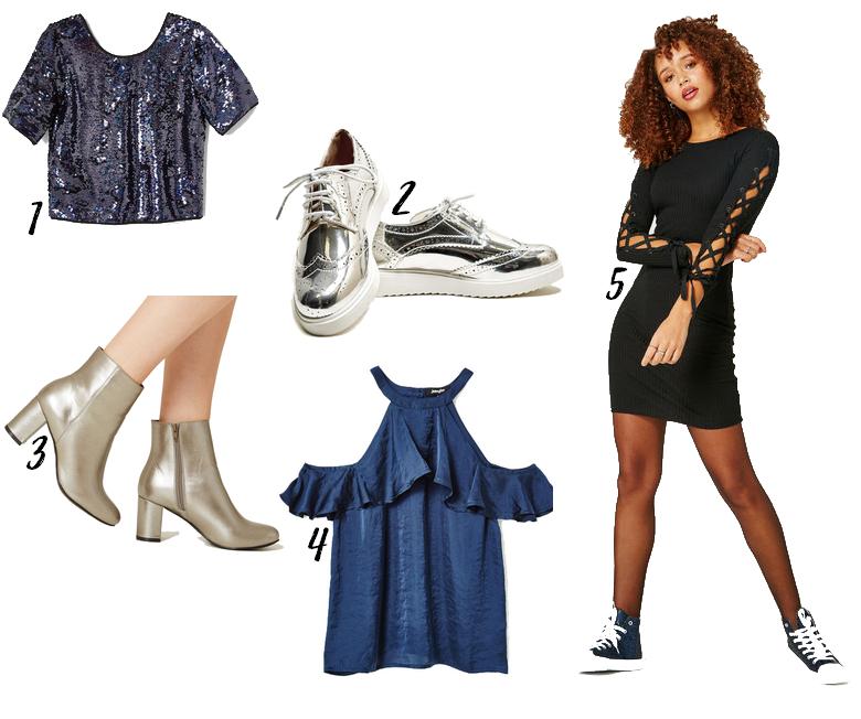 sélection vêtements et chaussures jennyfer