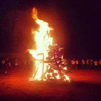 Nysc camp fire night
