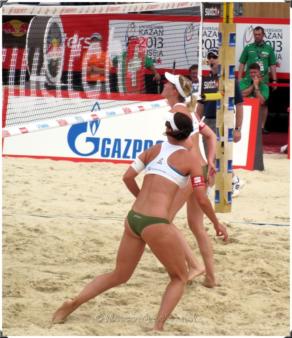 BEACH VOLLEYBALL ATTACK COMBINATION