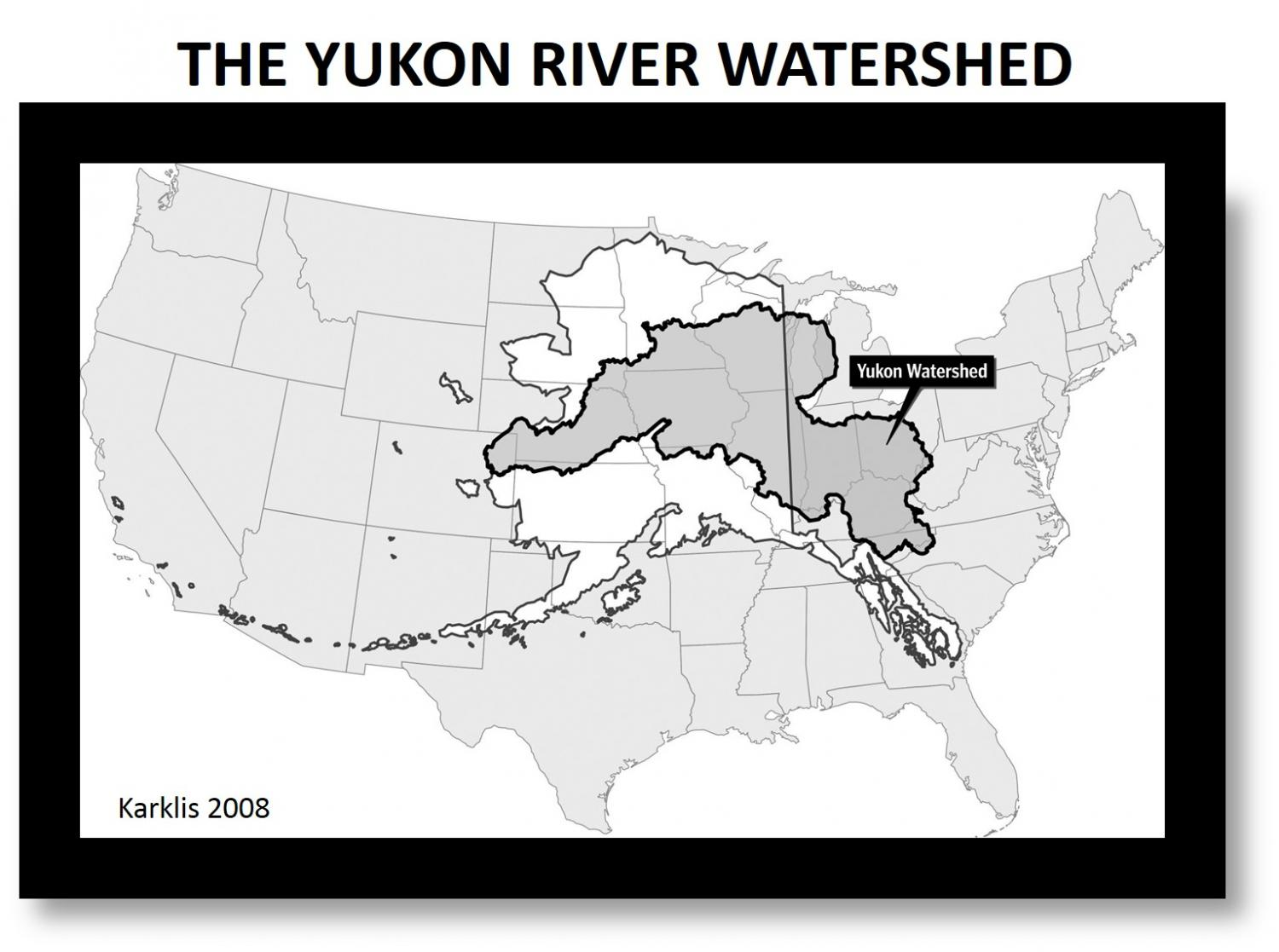 Permafrost Loss Changes Yukon River Chemistry With Global - Yukon river world map