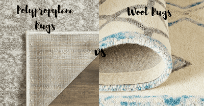 Polypropylene Rugs vs Wool