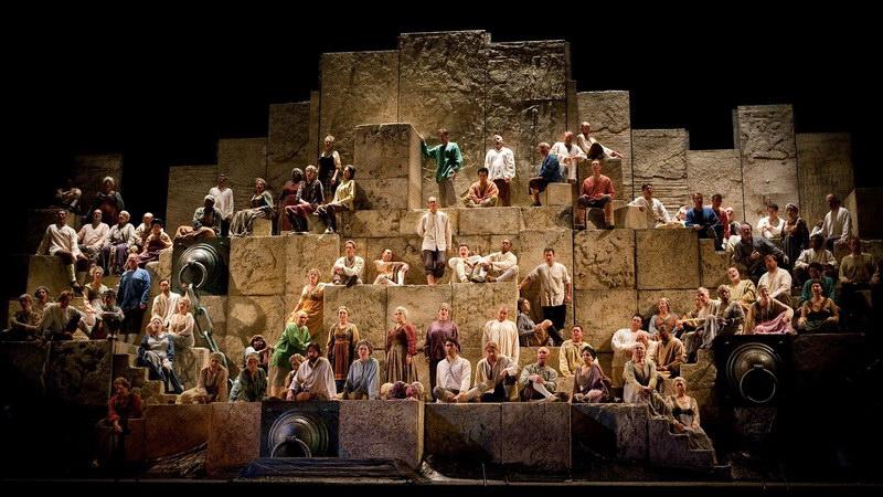 Η όπερα Nabucco του Βέρντι με τον Πλάθιντο Ντομίνγκο στο Δημοτικό Θέατρο Αλεξανδρούπολης